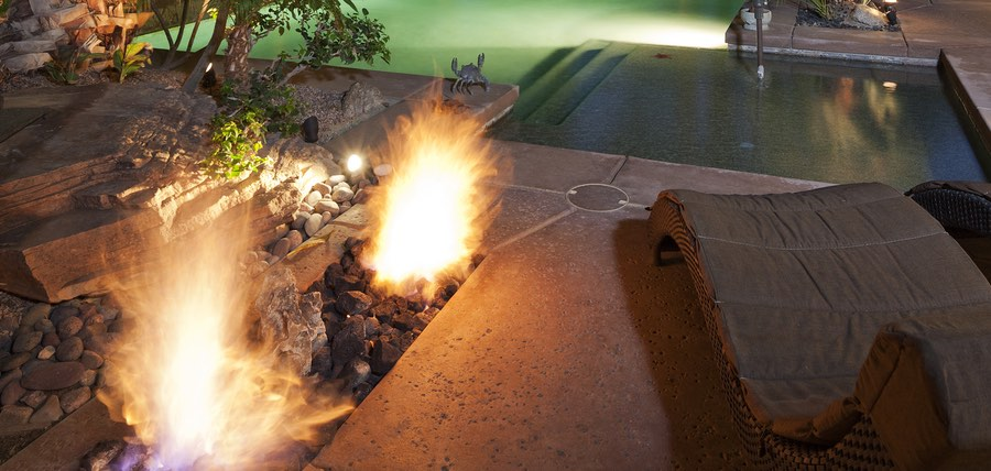 Add Exotic Fire Feature Effects To Your Backyard