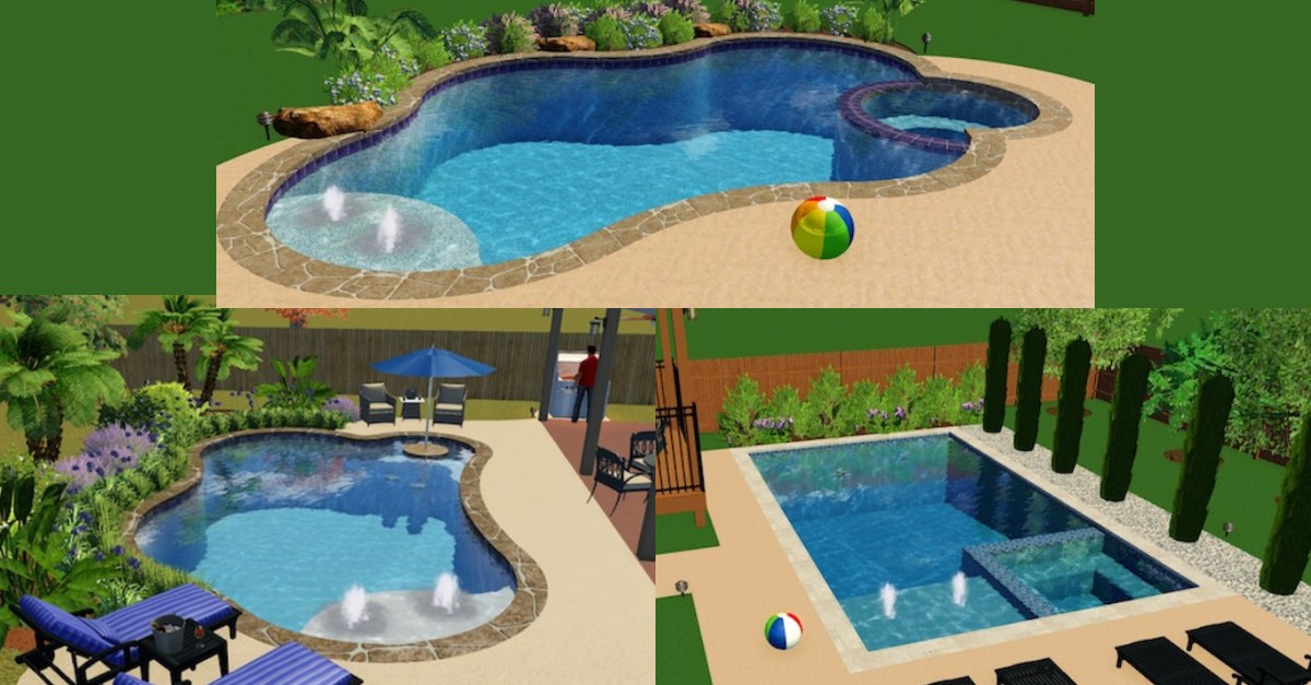 Inexpensive And Simple Pool Designs For Inground Pools Precision Pools